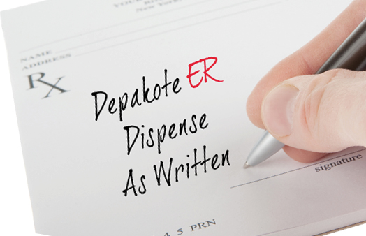 Depakote ER dispense as written